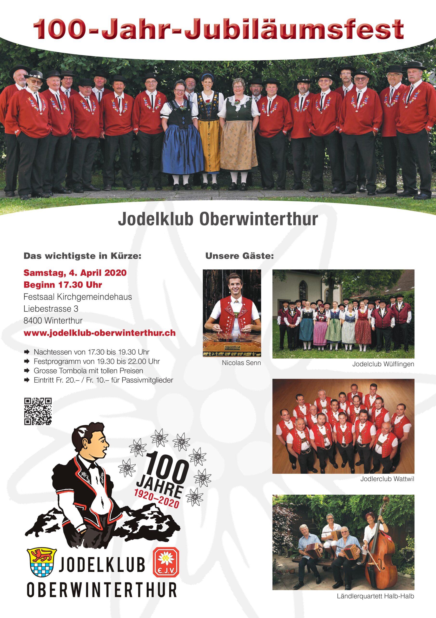100-Jahr-Jubiläumsfest